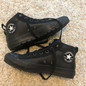 New Converse men's 7 women's 9 mid leather street
